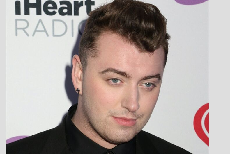 PHOTOS: Pop star Sam Smith captured making out with handsome actor in NYC