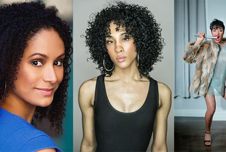 transgender actresses pose