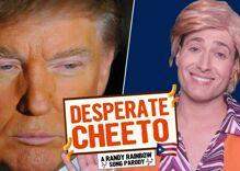 Randy Rainbow's latest hilarious parody turns Despacito into 'desperate Cheeto'