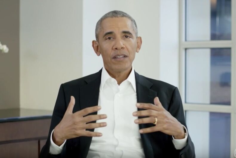 Barack Obama teams with Jimmy Kimmel & Bono for World AIDS Day