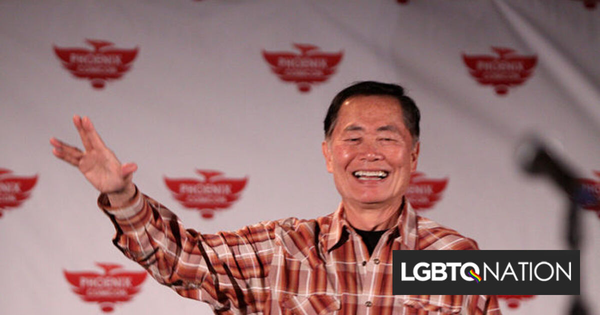 """""""Uncle"""" George Takei admitted he """"regrets"""" not being a father. Then the internet responds."""