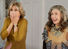 This conversation between a real life Grace & Frankie will leave you screaming
