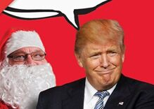 If you hate Donald Trump, you're gonna love these 7 political Christmas cards
