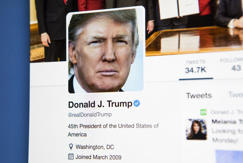 Twitter blocks #bisexual with new rules, but gives Trump a pass to bully & abuse people