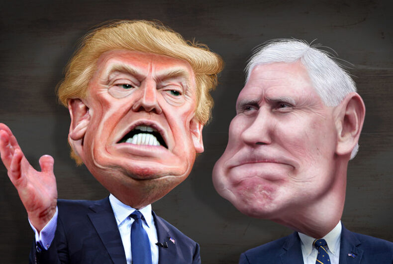 Pence may be a lapdog, but he's wagging Trump's tail