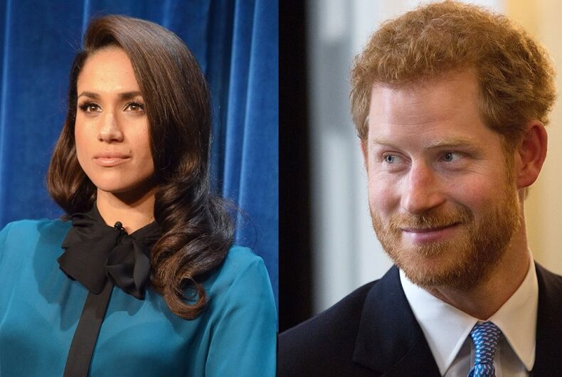 Meghan Markle & Prince Harry say they'll prioritize LGBTQ rights after wedding