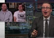 John Oliver slammed an anti-marriage gay couple. Now they're mad.