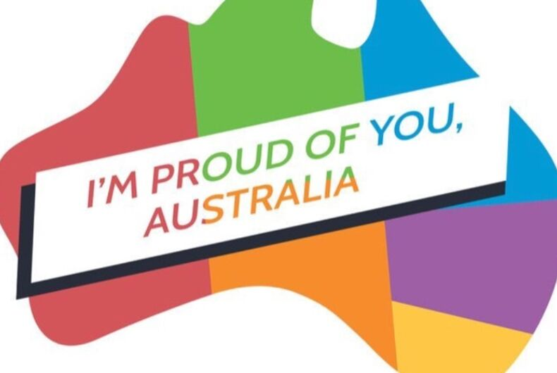 Celebrities are celebrating Australia's marriage equality vote on social media