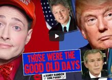 Randy Rainbow looks back to the good old day of simpler scandals past