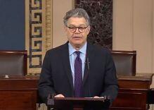 Senator Al Franken announces he will resign amid sexual misconduct allegations