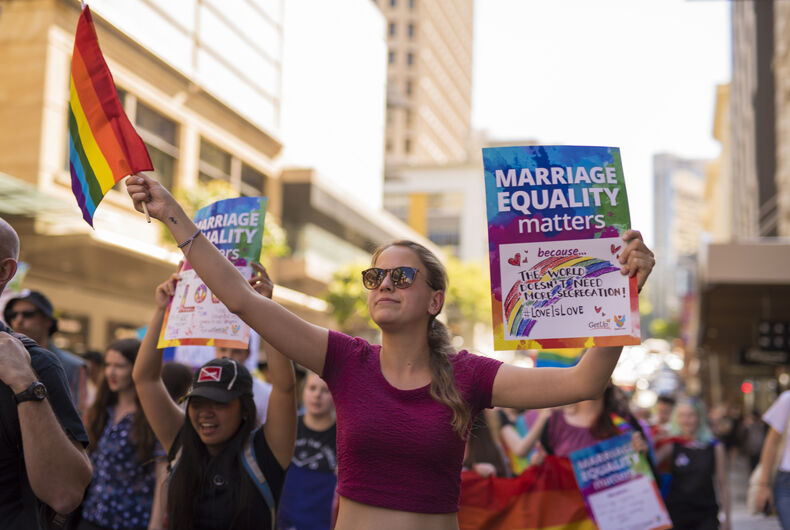 Dept. of Silver Linings 2017: Opposition to marriage equality is dying off (literally)