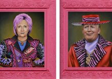 'Punk Hillary' Clinton got an art show shut down after a Republican bomb dog raised suspicions
