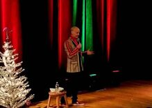 You have to see John Waters' badass Christmas card