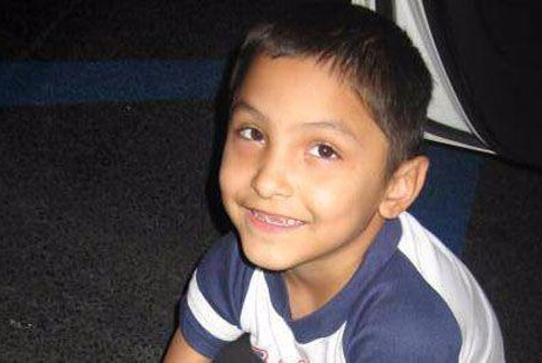 Death penalty for the man who killed an 8-year-old he thought was gay