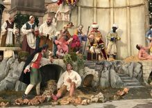 The Vatican's nativity scene has a hot guy in it. Conservatives aren't having it.
