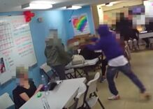 A masked man attacked an LGBT center in D.C.