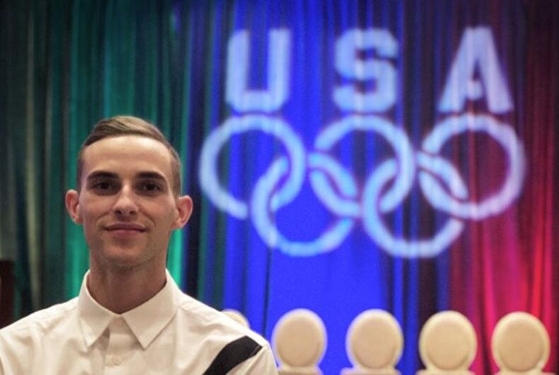 Did Adam Rippon just announce his retirement?