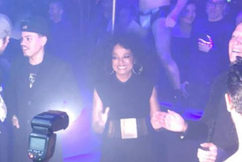 Diana Ross went out dancing in West Hollywood & the gays lost their freakin' minds