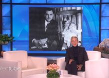 Ellen pays tribute to her dad & shares the incredible moment that happened before he died