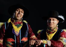 Watch this adorable gay Native American couple break barriers with a pow wow dance