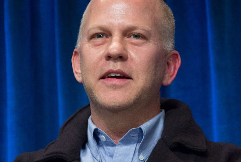 TV writer Ryan Murphy: My dad 'beat me bloody with a belt' when I came out