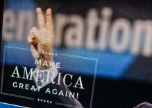 'Make America Great Again' isn't just a motto. It's a way of life for Trump.