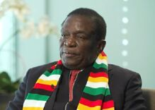 Zimbabwe's new president says he won't lift a finger to legalize gay sex