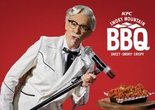 This legendary singer did drag for a KFC ad. Cue the conservative outrage.