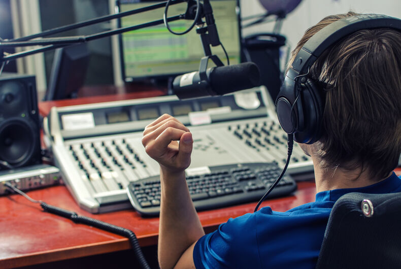 Listen to this radio host completely destroy an antigay caller with one simple question
