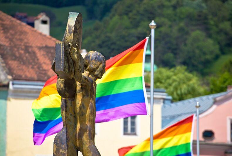 Gay Christian Cross