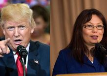 Senator Tammy Duckworth clapped back at Trump so hard his ears are still ringing