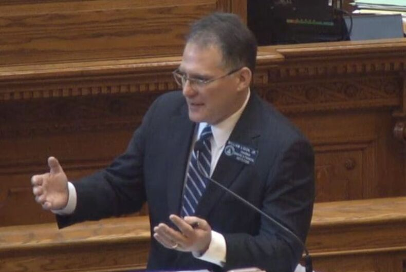 Bill making it legal to ban gays & lesbians from adopting passes in Georgia