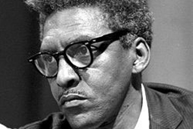 Remembering the legacy of Bayard Rustin