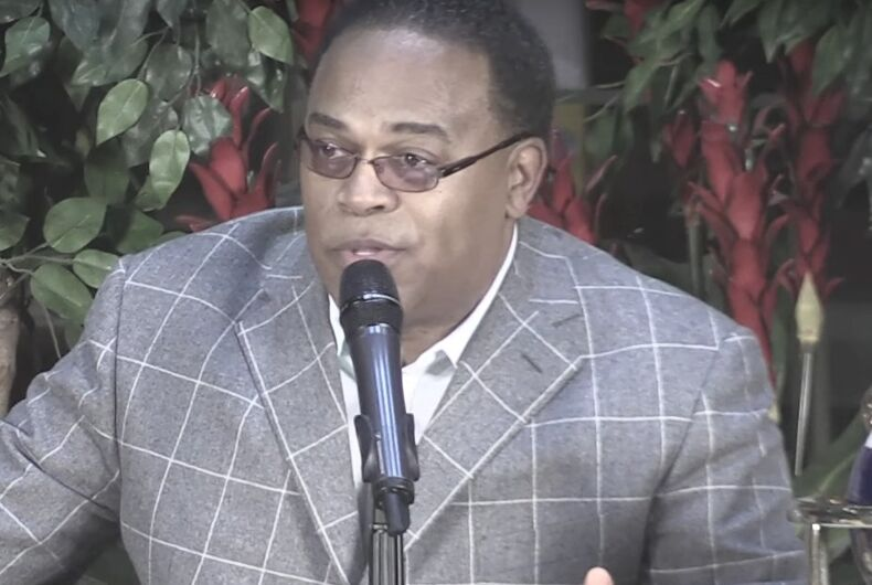 Republican governor picks pastor who preaches hate to lead the Civil Rights Commission