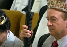 Antigay church marries dozens of AR-15 toting straight couples in mass ceremony