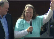 Kim Davis's lawyers file appeal to stop Kentucky from paying ACLU's legal fees