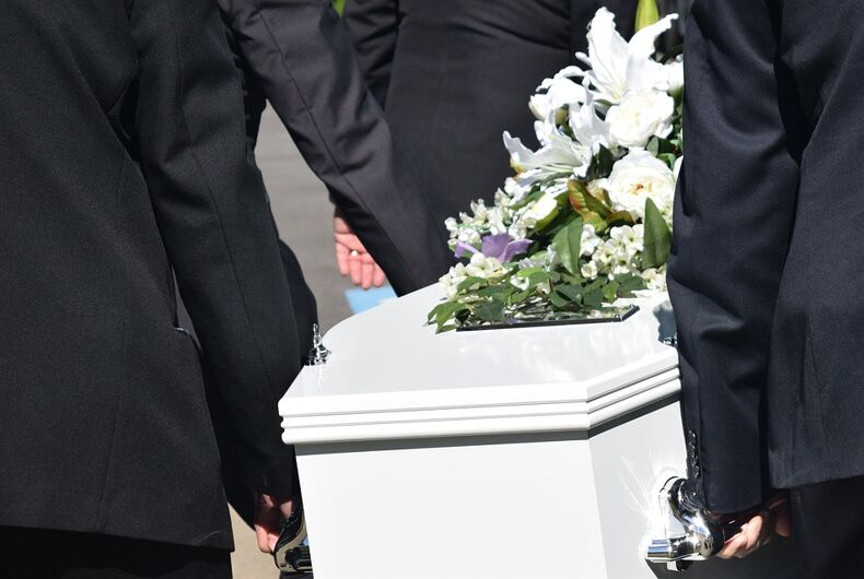 coffin funeral