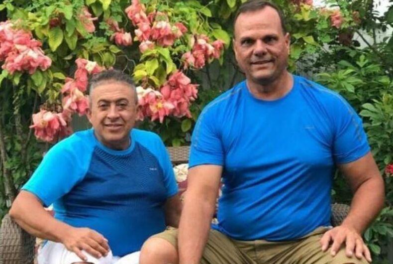 Gay couple Miami bridge collapse