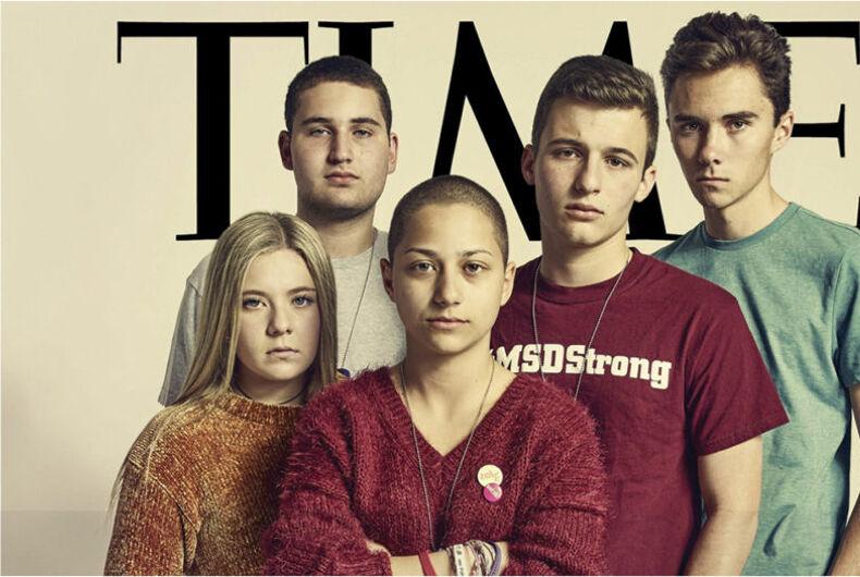 Parkland Time magazine cover