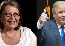 Of course Trump called Roseanne Barr to congratulate her on reboot's ratings