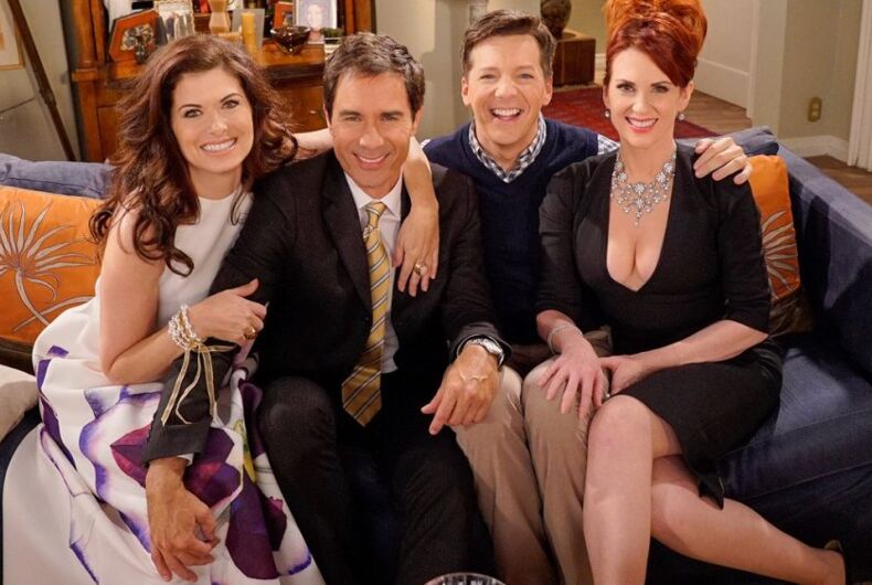 The cast of Will & Grace
