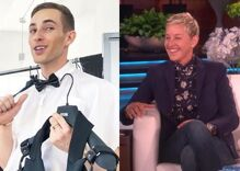 Would you watch Ellen & Adam Rippon's reality show?