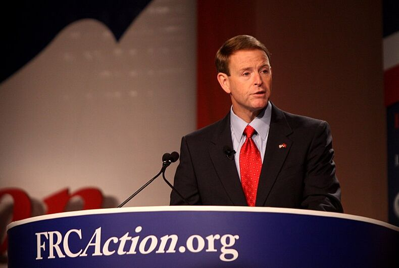 Tony Perkins nailed himself to a Google cross for Easter