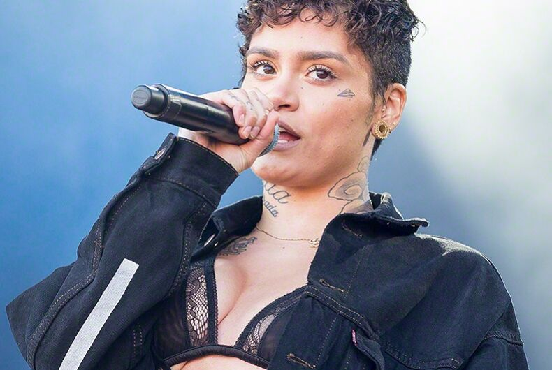 Kehlani just came out after kissing Demi Lovato on stage
