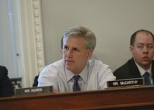 The GOP leader in the House is pretending that the party isn't at war with itself