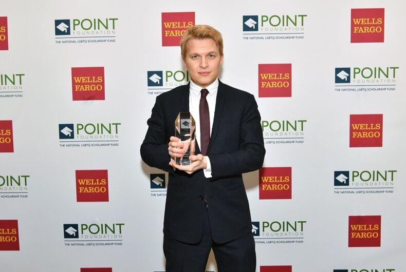 Ronan Farrow comes out at LGBT award ceremony
