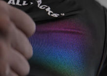 Rugby team's new black jerseys stretch to reveal a hidden pride rainbow