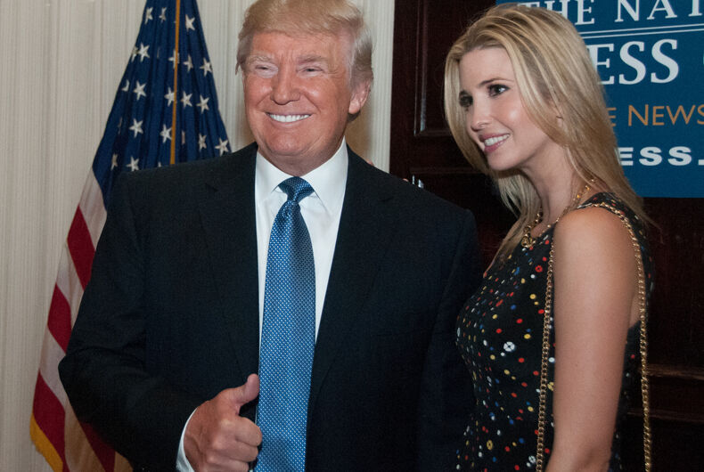 Is there a President Ivanka in our future? Trump's daughter is his heir apparent.