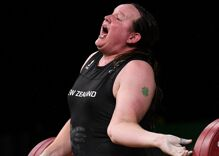 Transgender weightlifter's historic competition ends in horrific injury