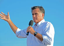 Is Trump a liability or a leg up in Republican strongholds? Ask Mitt Romney.